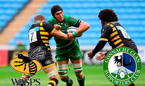 Connacht Wasps home